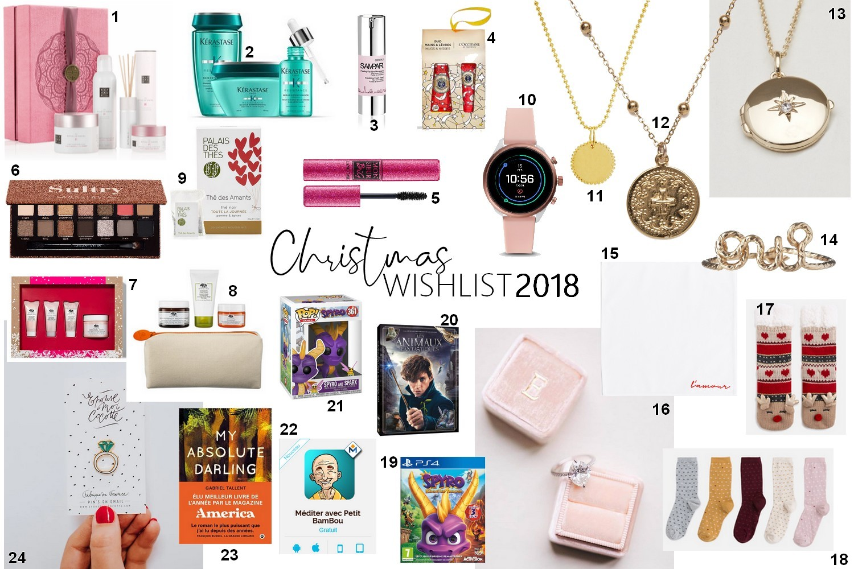 Wishlist Noël 2018 pour future mariée (mais pas que !)