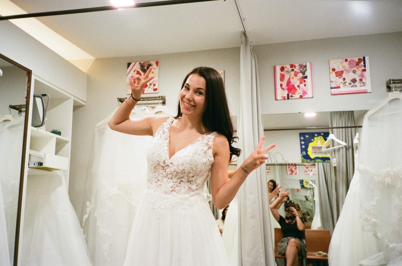 J'essaye des robes de mariée ! (4 boutiques